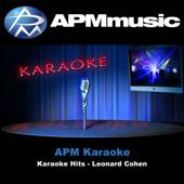 Karaoke Hits: Leonard Cohen