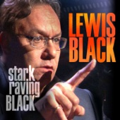 Cover to Lewis Black's Stark Raving Black