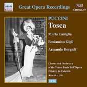 Puccini: Tosca (Complete Opera) and Highlights Sung in French