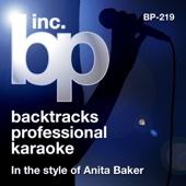 Karaoke - In the Style of Anita Baker (Karaoke Version) - EP