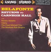 Belafonte Returns to Carnegie Hall