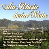 Am Rhein beim Wein
