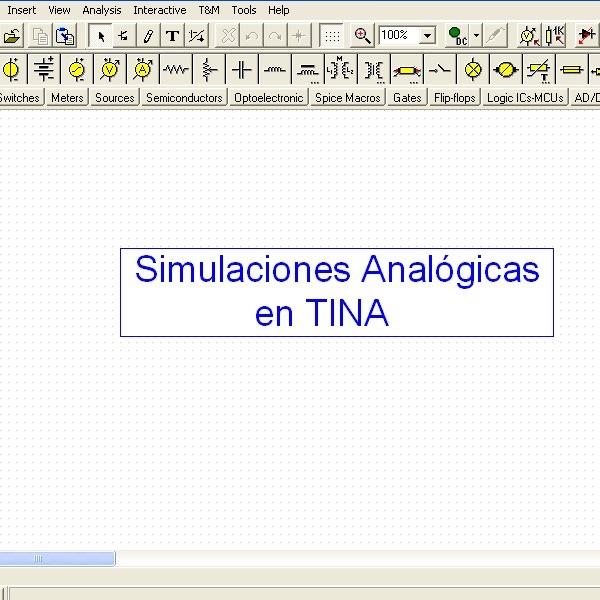 Simulaciones de Circuitos Analógicos
