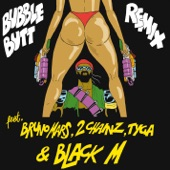 Bubble Butt (feat. Bruno Mars, 2 Chainz, Tyga & Black M) [Remix] - Single