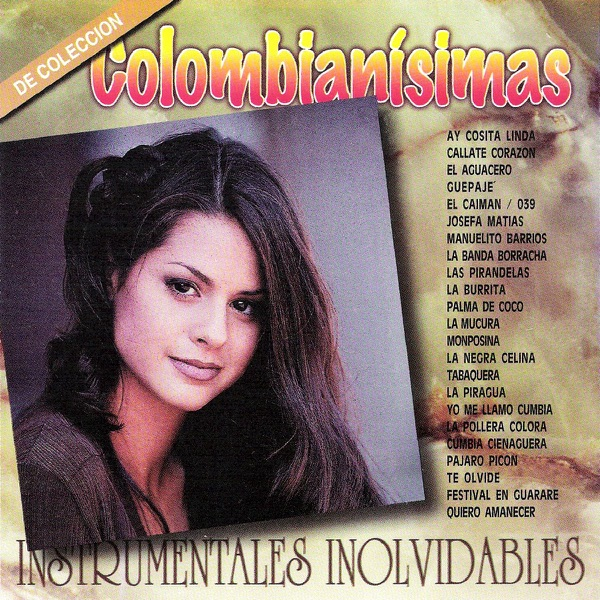 Colombianisimas Various Artists CD cover