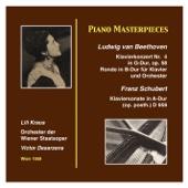 Piano Masterworks: Lili Kraus Ludwig van Beethoven: Piano Concerto Nr. 4 in G Major, Op. 58 Franz Schubert: Piano Sonata in A Major (, Op. posth.) (D.959) (Recordings 1959)