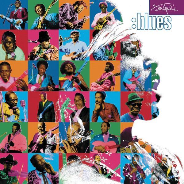Blues Jimi Hendrix CD cover