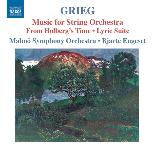 Grieg Music for String Orchestra Bjarte Engeset  Malmö Symphony Orchestra CD cover