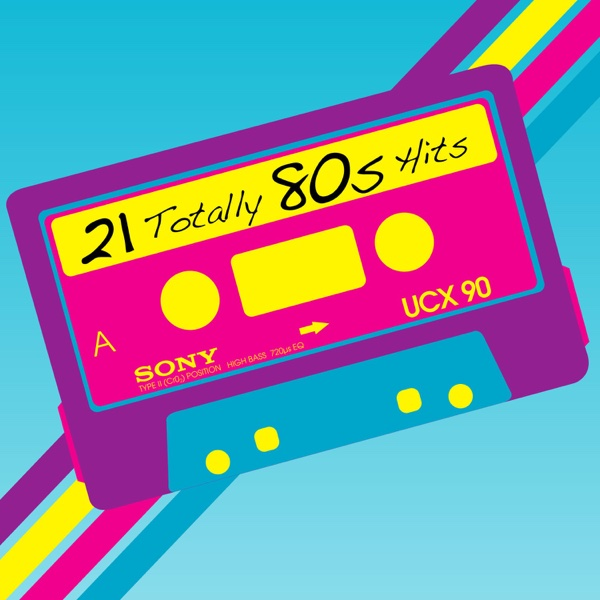 21 Totally 80s Hits Various Artists CD cover