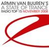 Armin Van Buuren's a State of Trance - Radio Top 15: November 2008, Armin van Buuren