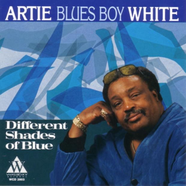 different shades of blue by artie blues boy white on. Black Bedroom Furniture Sets. Home Design Ideas