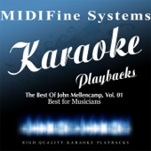 Paper In Fire (Karaoke Version Originally Performed by John Mellencamp) - MIDIFine Systems