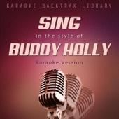 Karaoke Backtrax Library - Crying, Waiting, Hoping (Originally Performed by Buddy Holly) [Karaoke Version] artwork