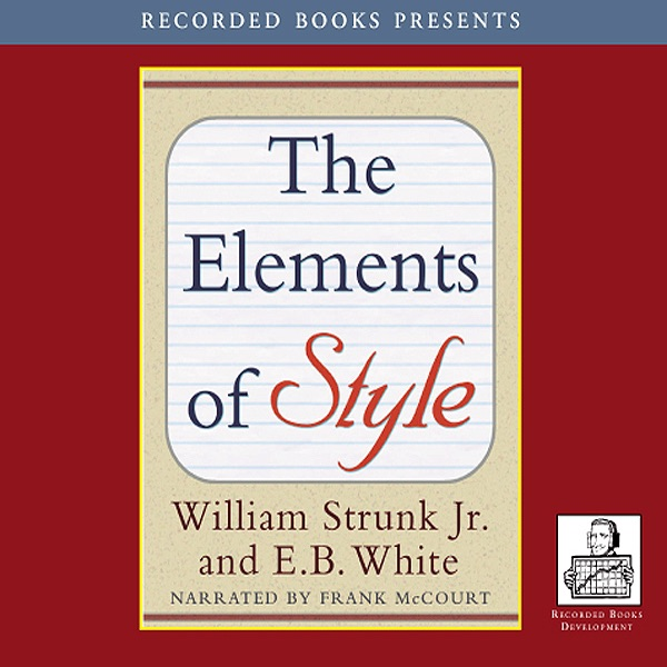 a personal review of the elements of style a book by william strunk jr Read the elements of style by william strunk jr with rakuten kobo be the first to review this book include any personal information.