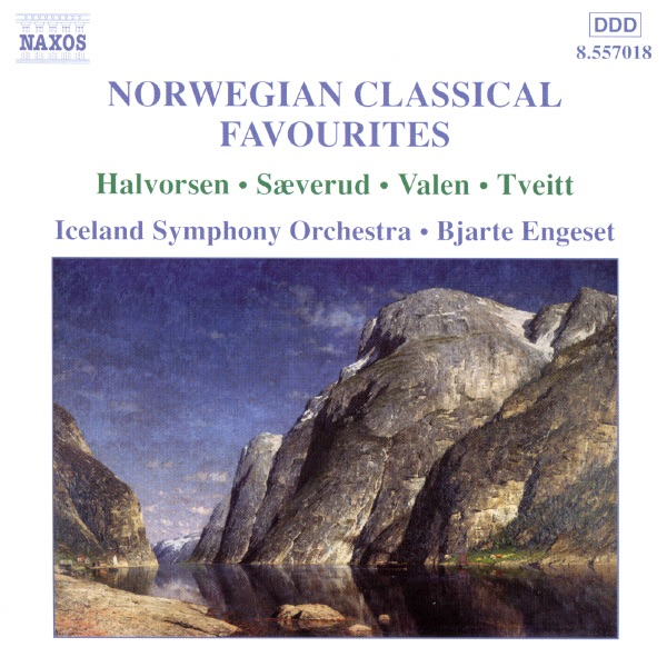 Norwegian Classical Favourites - 2 Bjarte Engeset  Iceland Symphony Orchestra CD cover