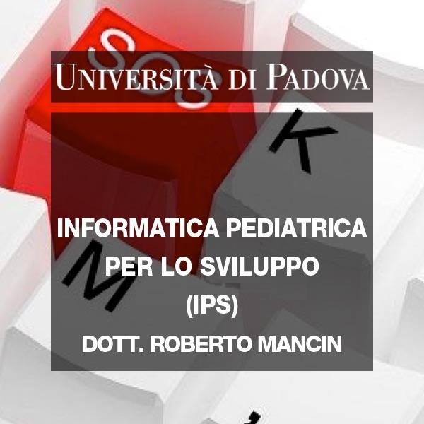 Informatica Pediatrica per lo Sviluppo