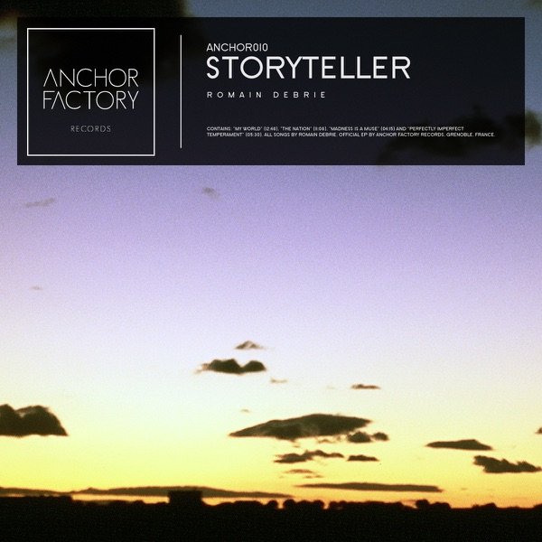 Storyteller - EP Romain Debrie CD cover