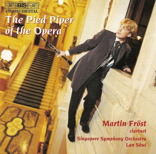 The Pied Piper of the Opera - Opera paraphrases on the clarinet