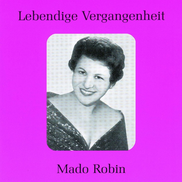 Mado Robin - Orchestre National De L'Opéra De Paris Orchestre Du Théatre National De L'Opéra Récital