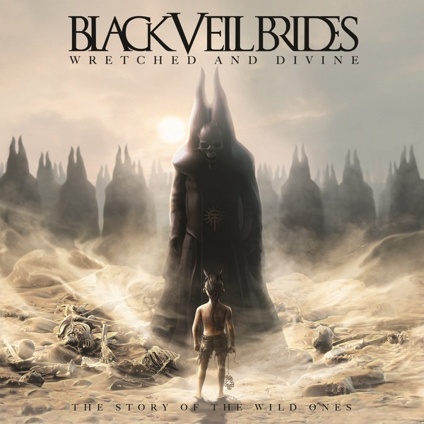 Wretched and Divine The Story of the Wild Ones Black Veil Brides CD cover