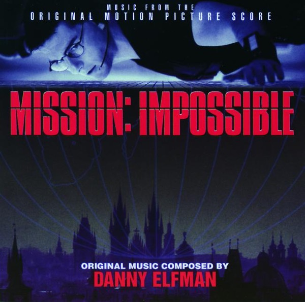 Mission: Impossible Album Cover by Danny Elfman