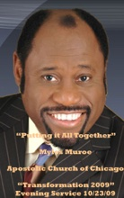 Putting it All Together (Transformation Evening Service pt.1), Apostolic Church of God & Dr. Myles Munroe
