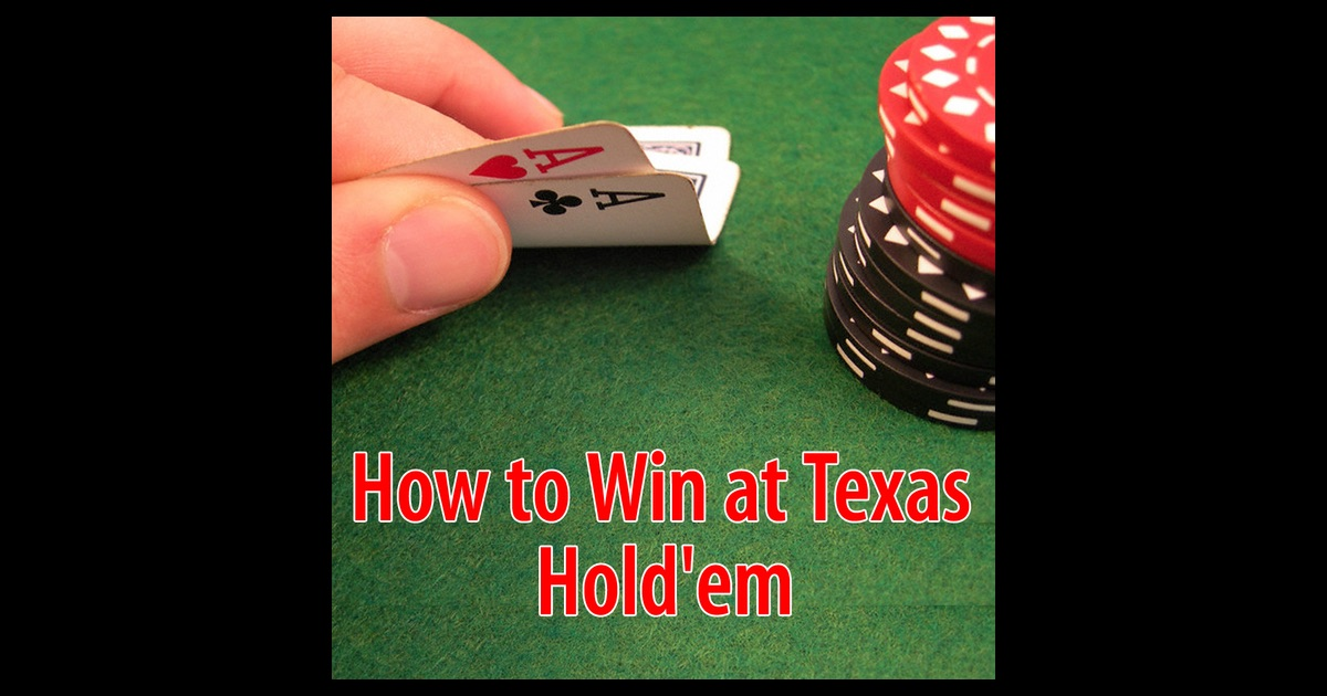 ways to win texas holdem