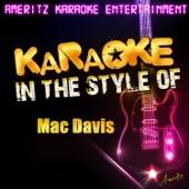Texas in My Rear View Mirror (In the Style of Mac Davis) [Karaoke Version]