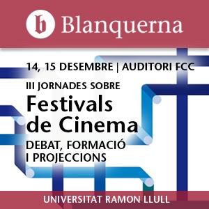 III Jornades sobre Festivals de Cinema - Audio