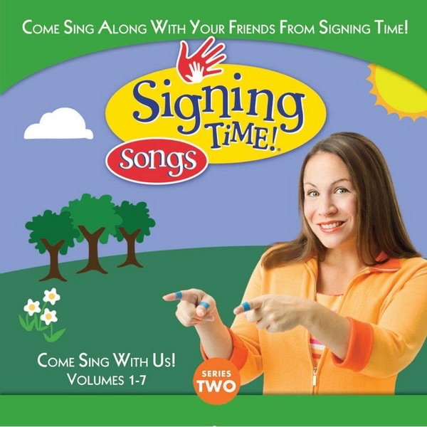 Signing Time Series Two Vol 1-7 Various Artists  Signing Time  Rachel Coleman CD cover