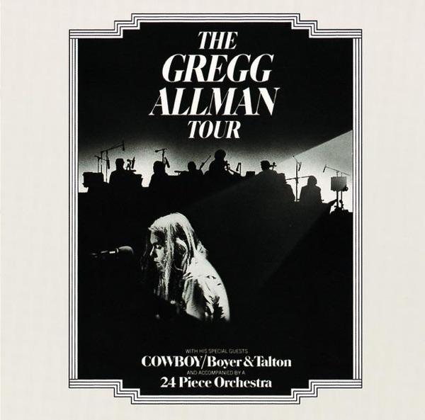 The Gregg Allman Tour Live Gregg Allman CD cover