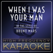 When I Was Your Man (Instrumental Version)
