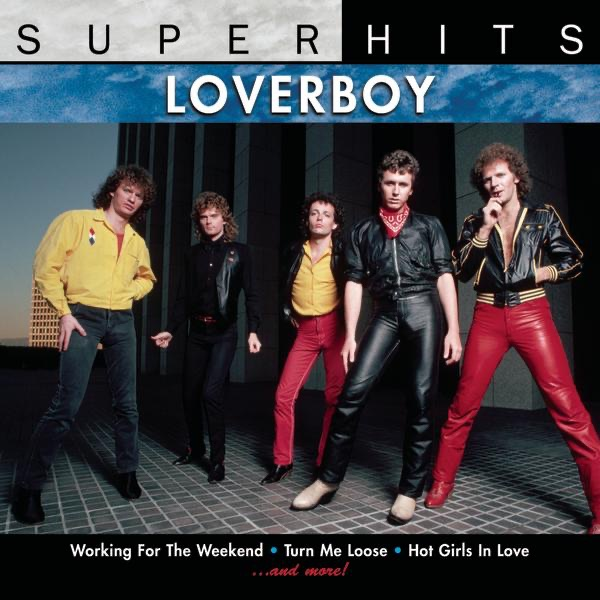 loverboy super hits album cover by loverboy