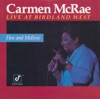 Black And Blue - Carmen McRae