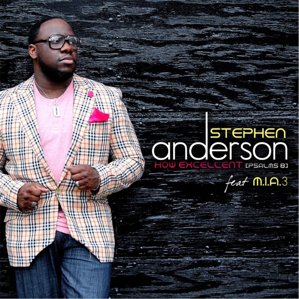 How Excellent Psalm8 Radio Edit feat MIA 3 - Single Stephen Anderson CD cover