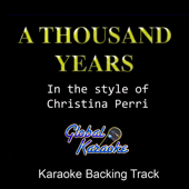 A Thousand Years (In the Style of Christina Perri) [Karaoke Backing Track]