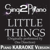 [Download] Little Things (Originally Performed By One Direction) [Piano Karaoke Version] MP3