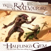 R.A. Salvatore - The Halfling's Gem: Legend of Drizzt: Icewind Dale Trilogy, Book 3 (Unabridged)  artwork