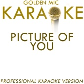 Picture of You (In the Style of Boyzone) [Karaoke Version]