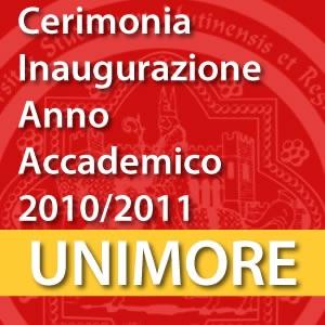 Cerimonia di inaugurazione dell'Anno Accademico 2010-2011 [Video]