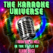 I Know Him So Well (Karaoke Version) [In the Style of Elaine Paige]