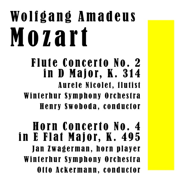a discussion on mozarts flute concerto no 2 in d Current sales from usa : limited time • 25% off new releases • 20% off jazz piano solos series sheet music • 20% off musical theater • schirmer-20.