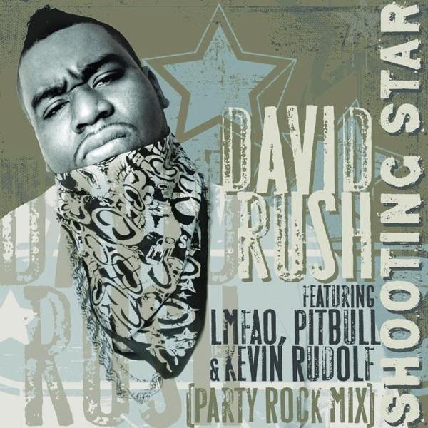Shooting Star Album Cover by David Rush