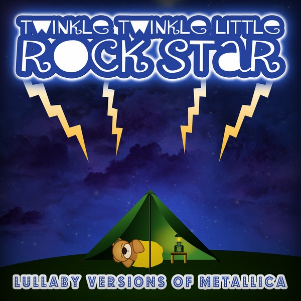 Lullaby Versions of Metallica Twinkle Twinkle Little Rock Star CD cover