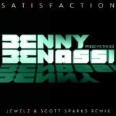 Satisfaction (Jewelz & Scott Sparks Remix) - Single cover art