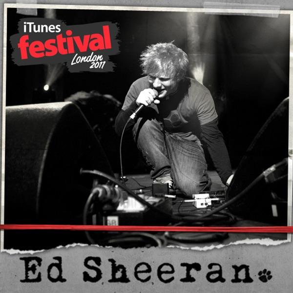 iTunes Festival London 2011 - EP Ed Sheeran CD cover
