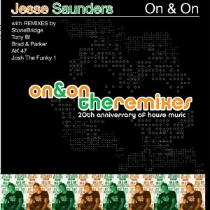Jesse Saunders - Dance The Night Away (Jesse Saunders Gruvstrumental Mix)