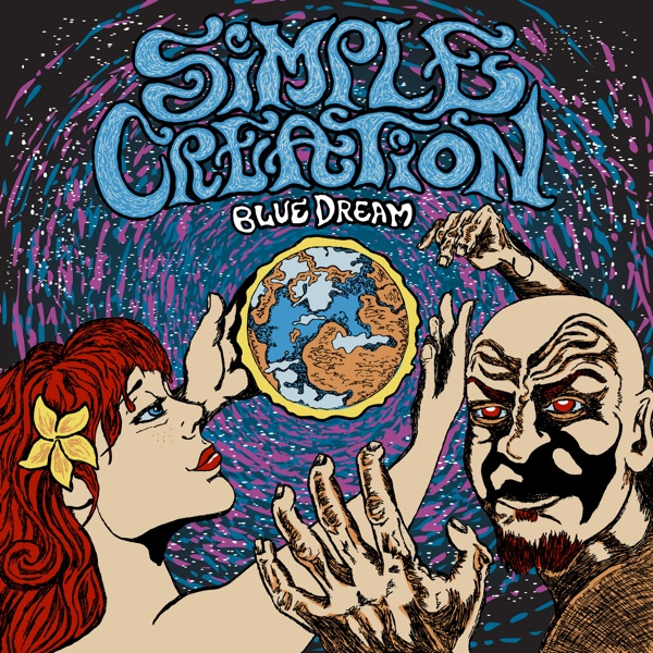 Blue Dream - EP Simple Creation CD cover