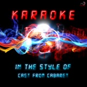 Karaoke (In the Style of Cast of Cabaret) - EP