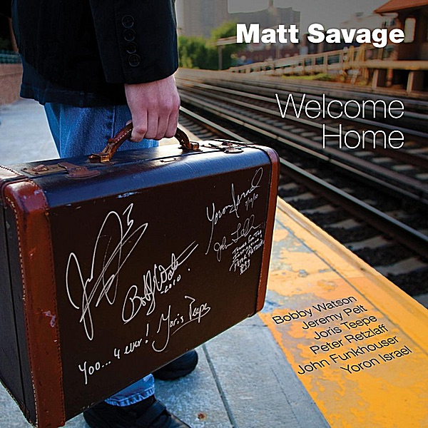 Welcome Home Matt Savage CD cover